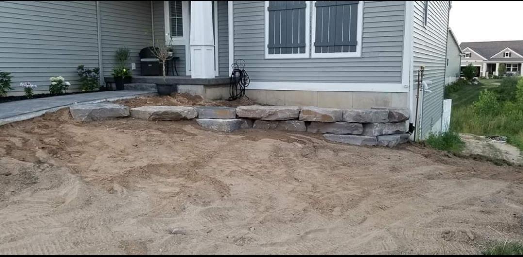 landscaping material in hudsonville, mi