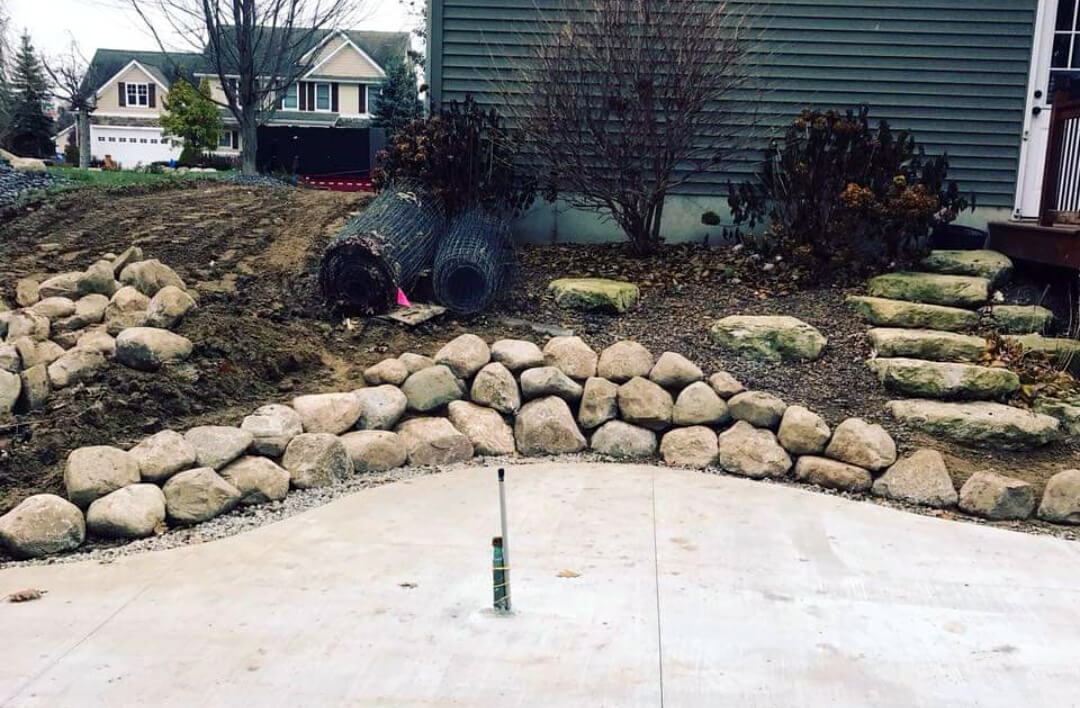 Work done by Vanspyker landscaping